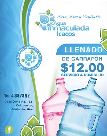 Agua Inmaculada Icacos