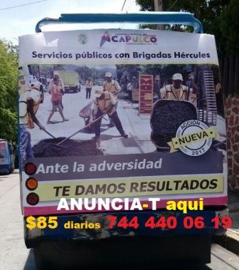 PUBLICIDAD CARRO DE SONIDO RÓTULOS ANUNCIOS CARTELERA 744 4400619 LETRERO ESPECTACULAR