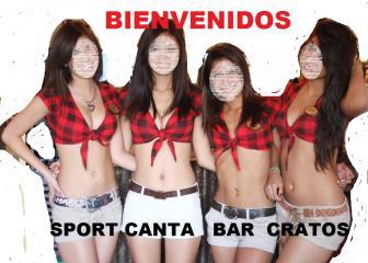 SPORT CANTA BAR CRATOS 7445162133 GUAPAS MESERAS clima tv cable musica karaoke