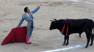 Bullfighting in Acapulco