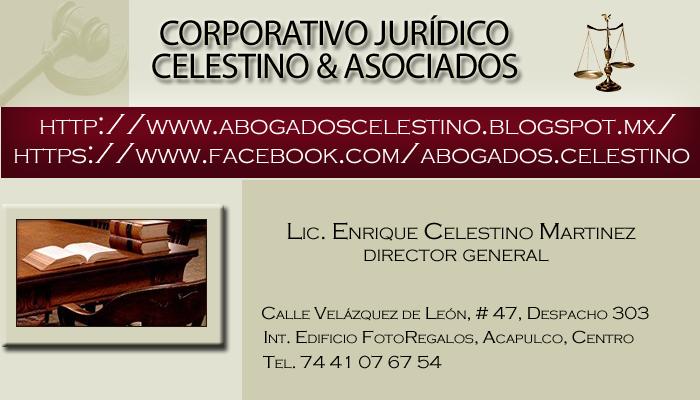"""CORPORATIVO JURÍDICO """"CELSTINO & ASOCIADOS"""""""