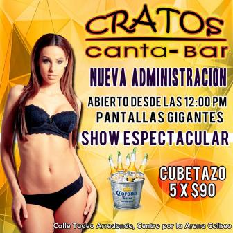 SPORT CANTA BAR CRATOS 744 4401146 TABLE DANCE BAILES PRIVADOS